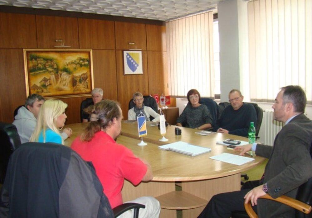 Predstavnici Holstebro Nødhjælp u posjeti općini Jajce 21.10.2012