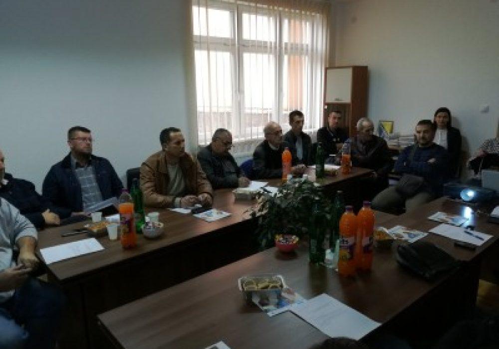 JAJCE: Sastanak predstavnika Centra za socijalni rad s predsjednicima Mjesnih zajednica