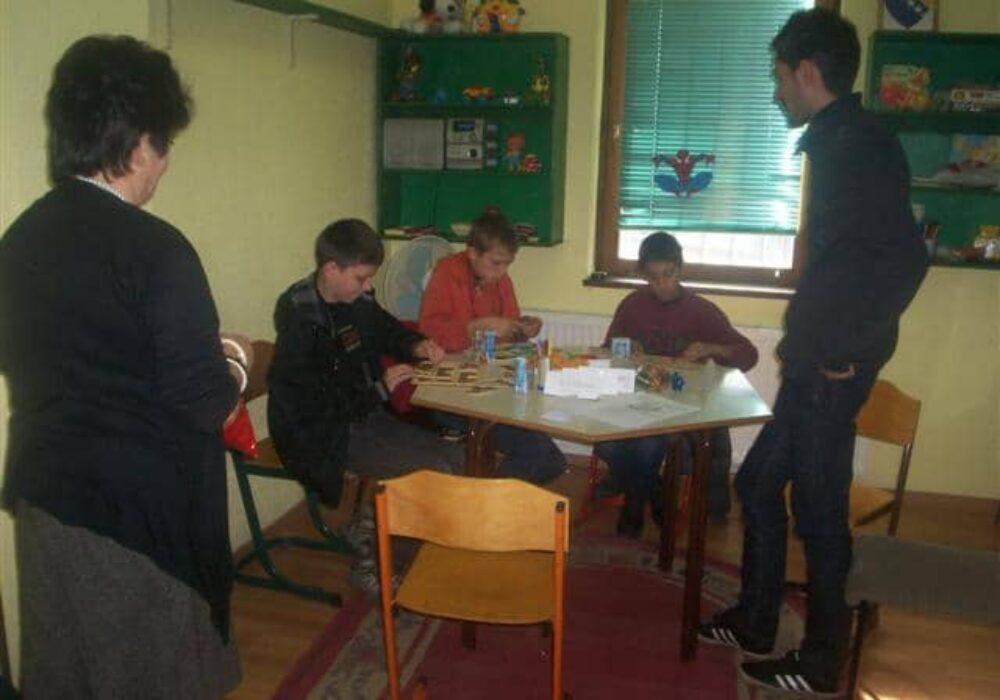 Djeca sa poteškoćama u ponašanju na radionicama Centra za socijalni rad