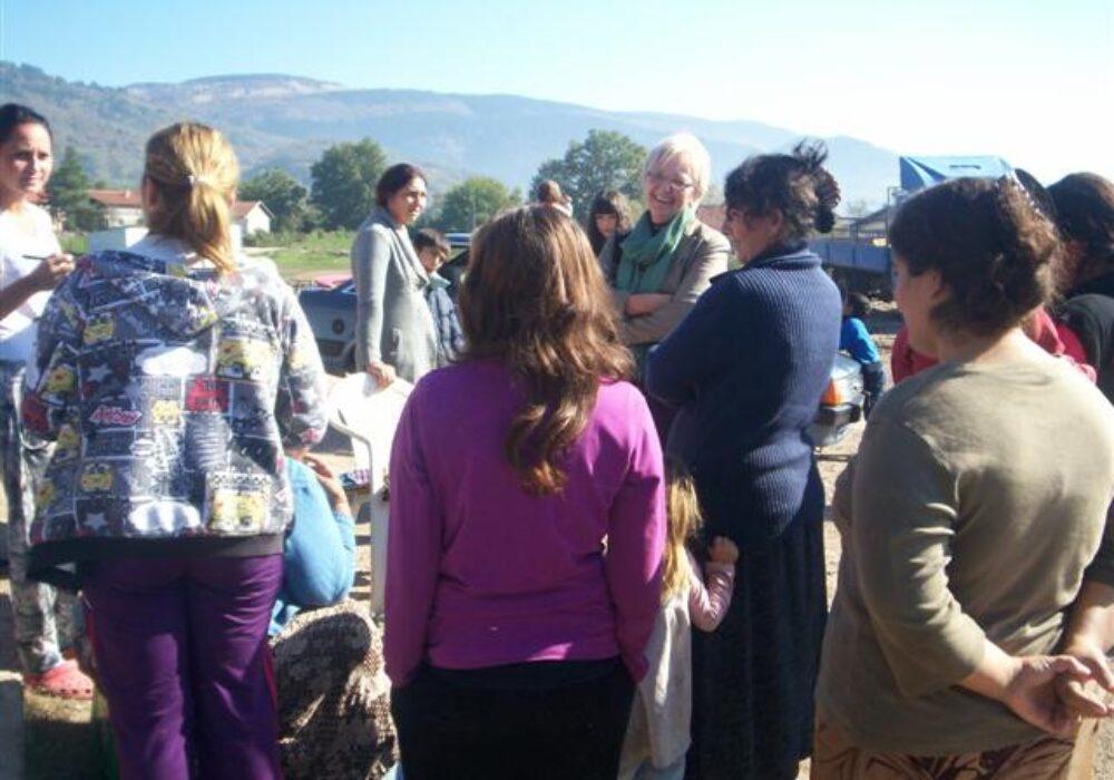 Predavanja u Romskoj zajednici Kuprešani 25.10.2012